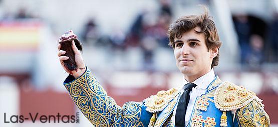 Una oreja para Javier Marín